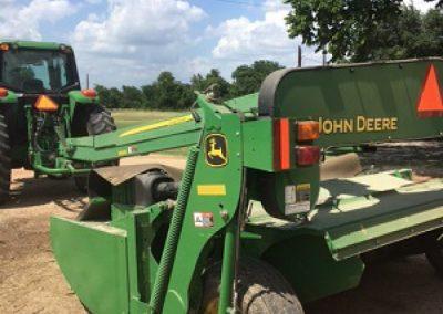 John Deere 835 Moco Hay Cutter